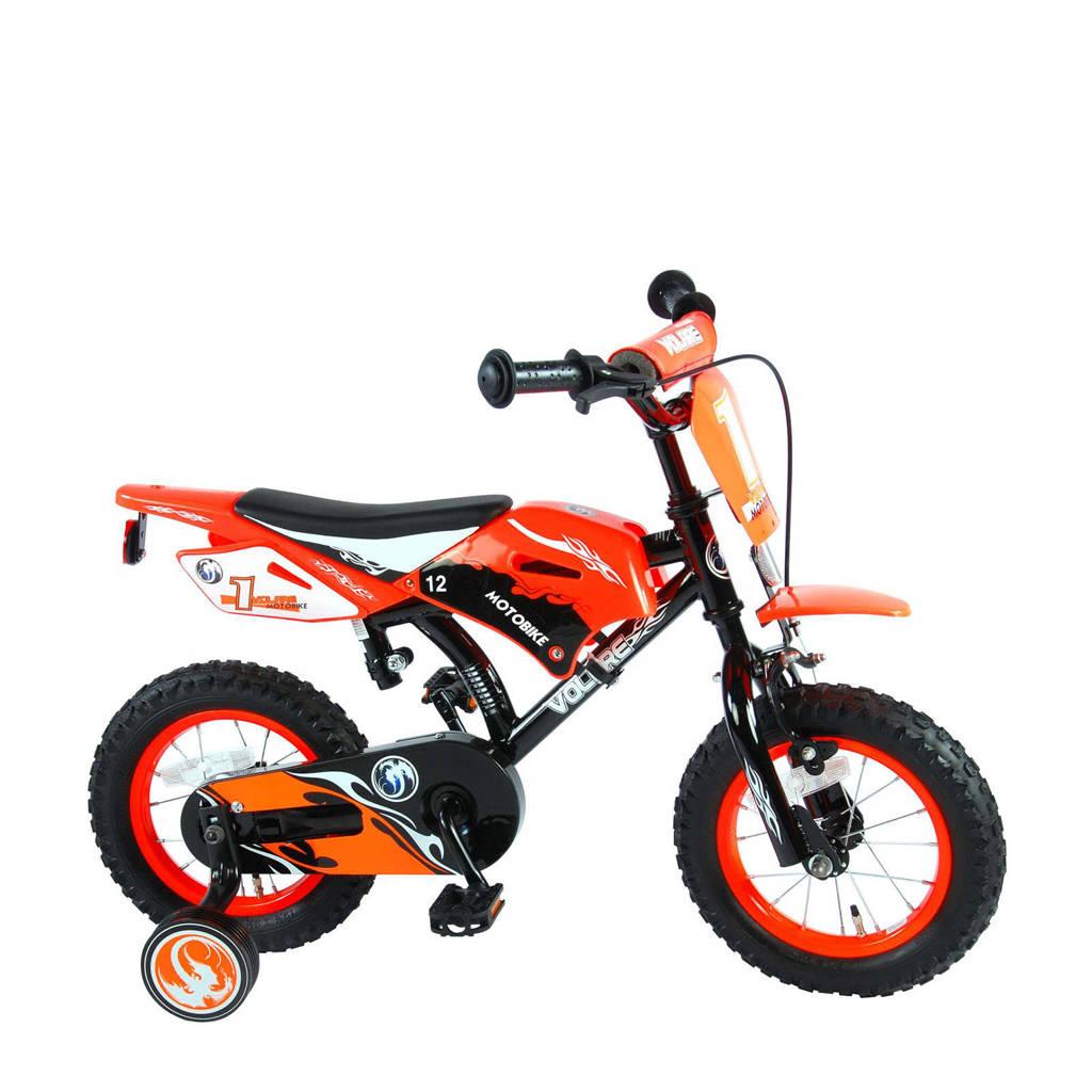Volare Motorbike kinderfiets 12 inch Oranje