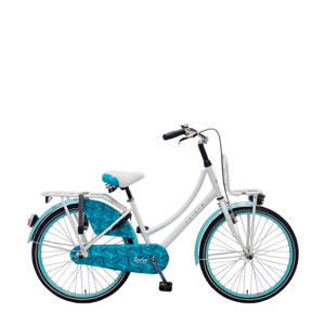 Dolce 24 inch kinderfiets white blue