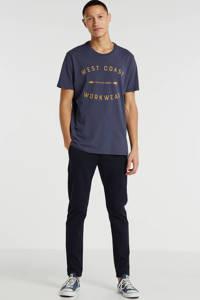 Lee T-shirt met printopdruk marine, Marine