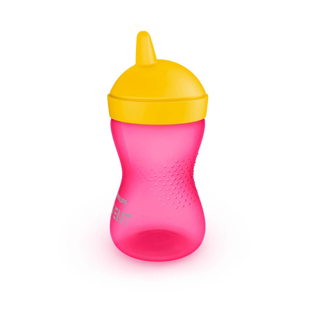 Philips AVENT My Grippy harde tuitbeker 300 ml roze/geel, Roze/geel