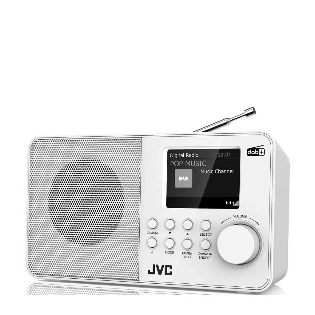 JVC F39W-DAB tafelradio, Wit