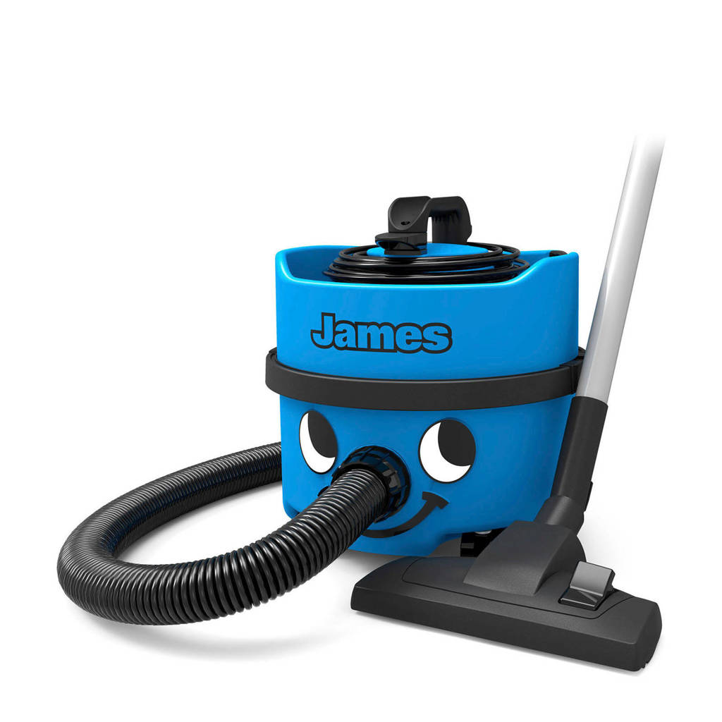 Numatic James JVH-187 stofzuiger, Blauw