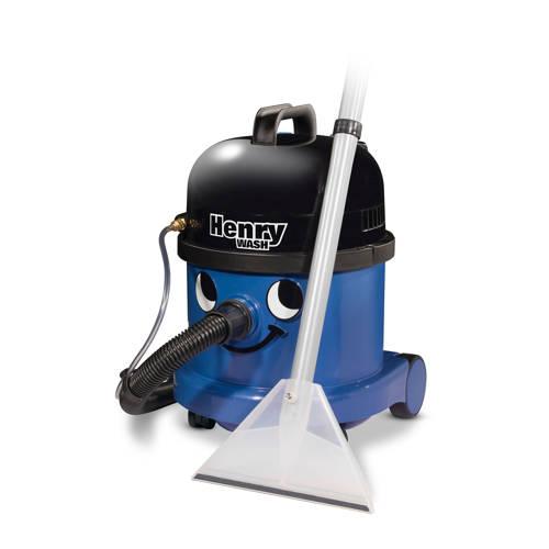 Numatic Henry Wash HVW-370-2 Sproei-extractiemachine blauw met kit AS6