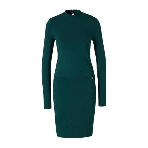Tom Tailor Denim jersey jurk groen
