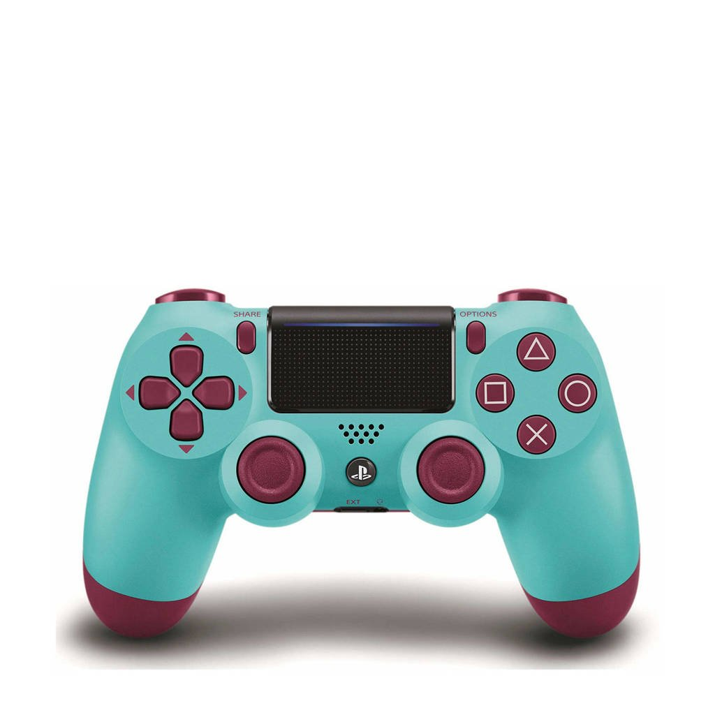 Sony Wireless DualShock 4 V2 controller Berry Blue, Turquoise