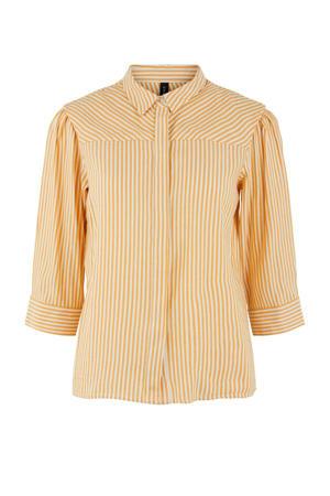 blouse gestreept