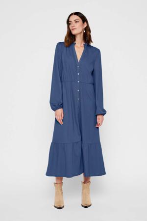 blousejurk donkerblauw
