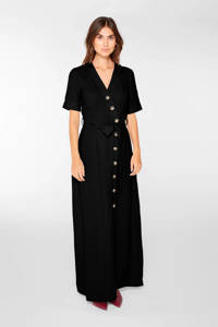 Y.A.S blousejurk en ceintuur zwart, Zwart