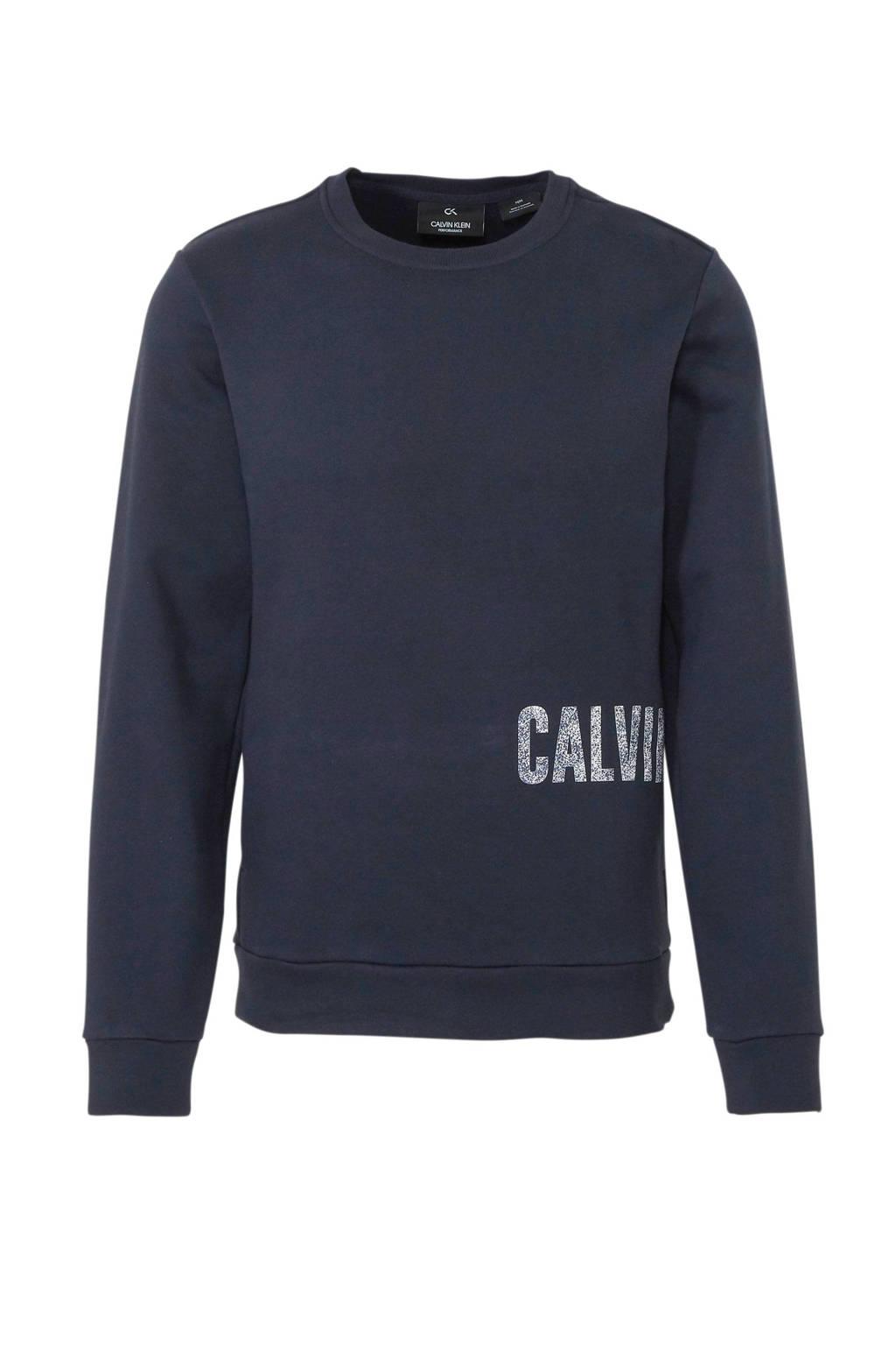 CALVIN KLEIN PERFORMANCE   sweater donkerblauw, Donkerblauw