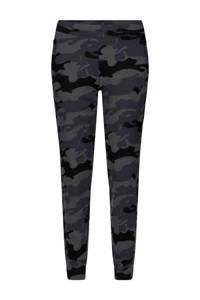 CALVIN KLEIN PERFORMANCE joggingbroek camouflageprint, Groen/zwart