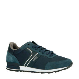 Parkour_Runn_nymx2  suède sneakers donkerblauw
