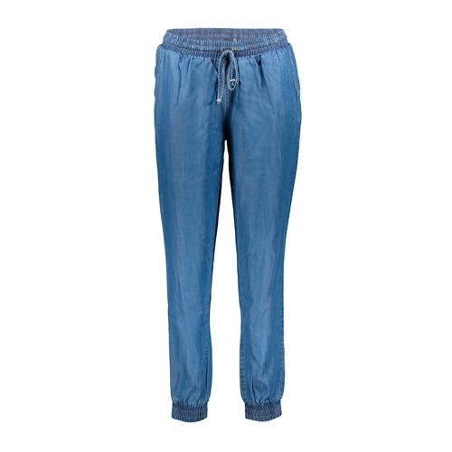 Geisha slim fit broek blauw