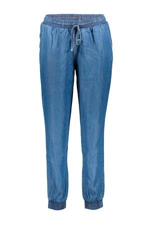 slim fit broek blauw