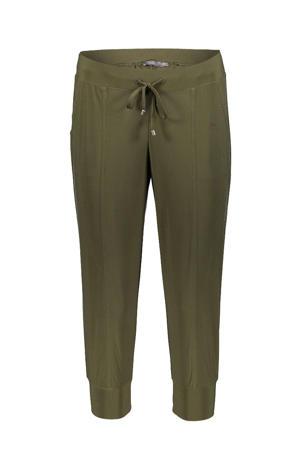 tapered fit broek groen