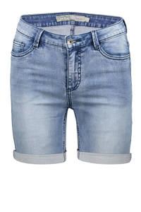 Geisha jeans short mid blue denim, Mid blue denim