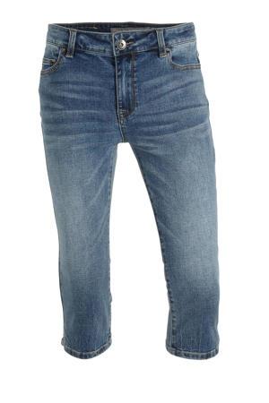 slim fit capri jeans blauw