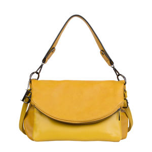 crossbody tas Cindy geel
