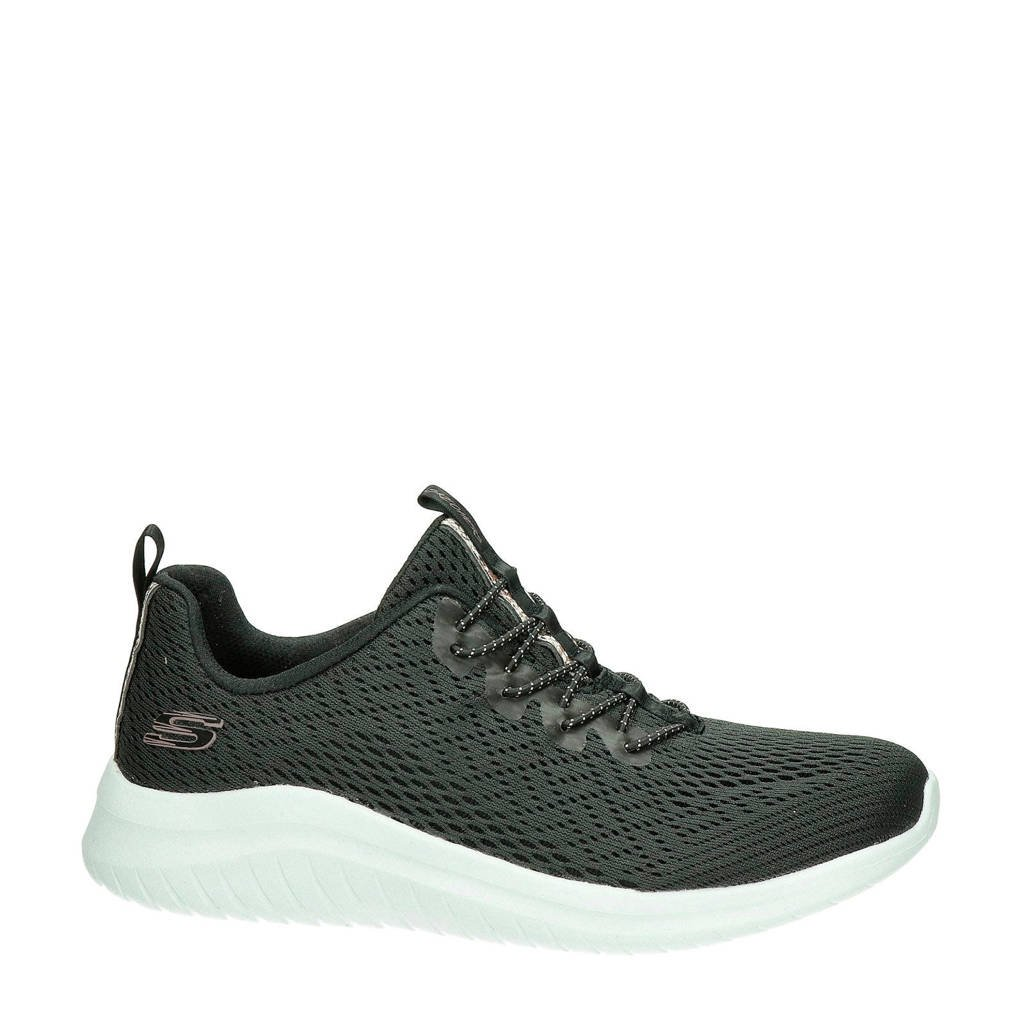 Skechers Ultra Flex 2.0  sneakers zwart, Zwart