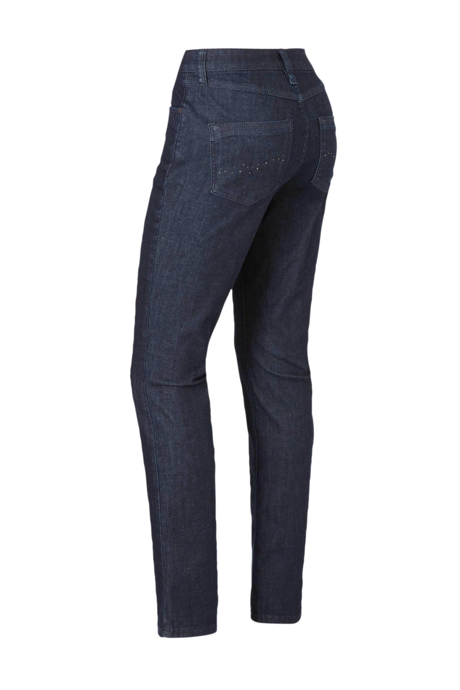 C&A The Denim high waist slim fit jeans blauw
