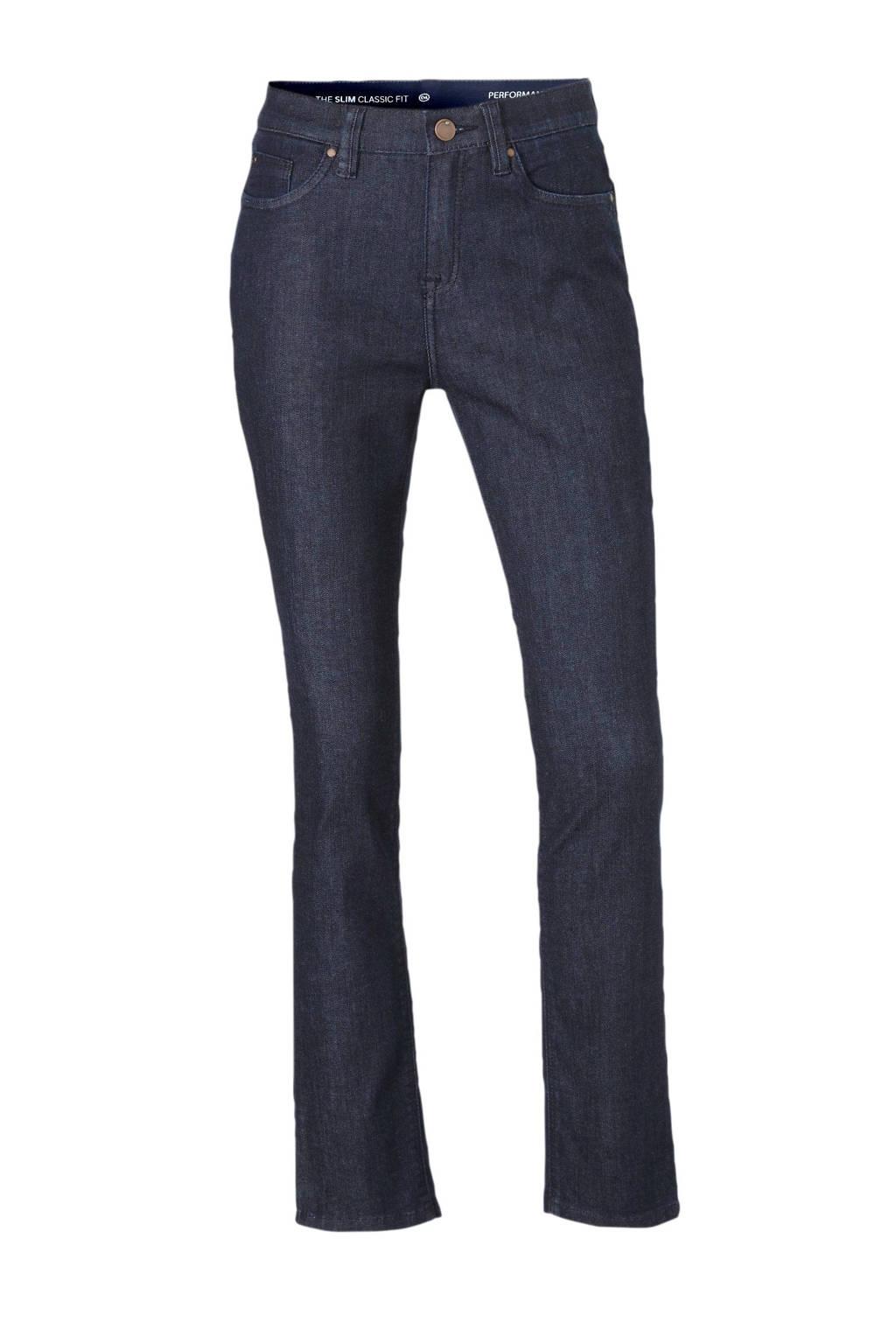C&A The Denim high waist slim fit jeans blauw, Blauw