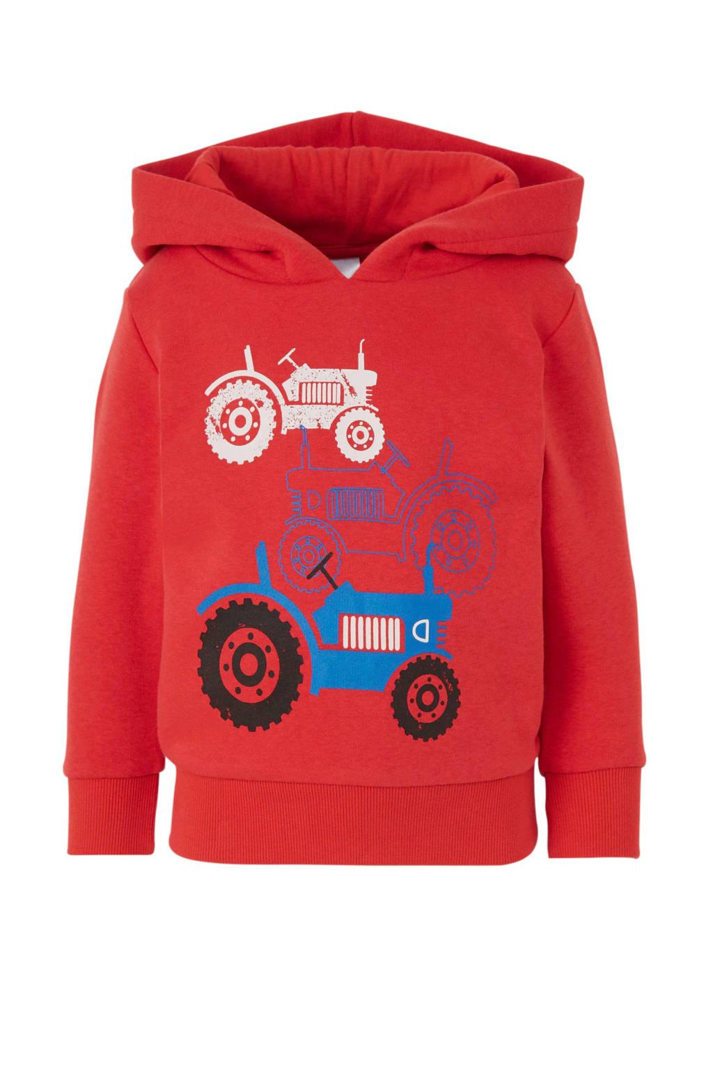 C&A Palomino hoodie met printopdruk rood, Rood