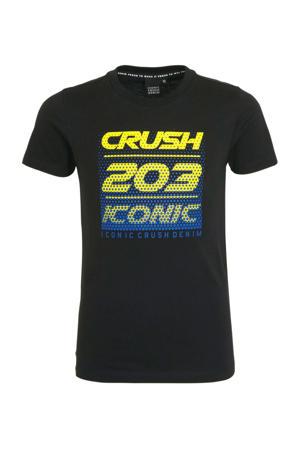 T-shirt Toronto met tekst zwart