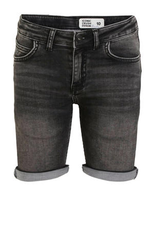 regular fit jeans bermuda Deale zwart