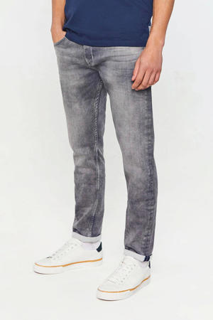 slim fit jeans light grey jog denim