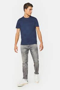 WE Fashion Blue Ridge slim fit jeans light grey jog denim, Light Grey Denim