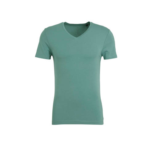 WE Fashion Fundamental T-shirt met biologisch kato