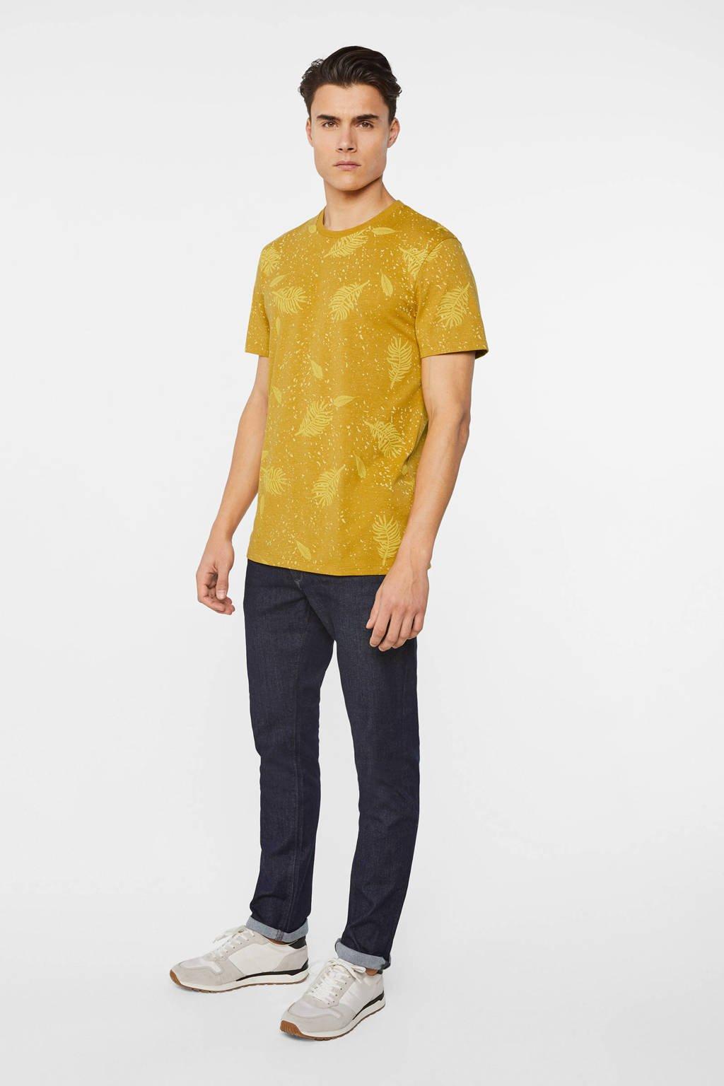 WE Fashion T-shirt honey mustard, Honey Mustard