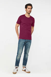 WE Fashion T-shirt van biologisch katoen purple potion, Purple Potion