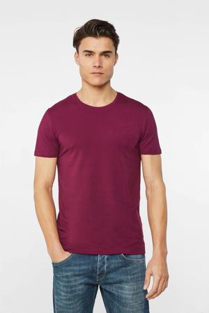 T-shirt met biologisch katoen purple potion