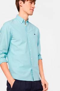 WE Fashion slim fit overhemd maui blue, Maui Blue