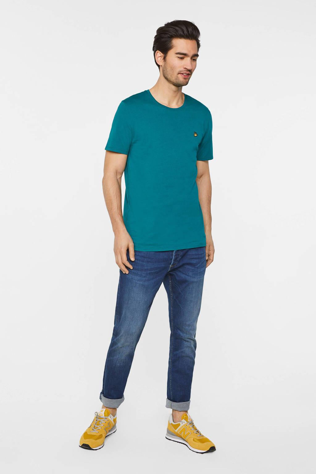 WE Fashion T-shirt van biologisch katoen sea storm, Sea Storm