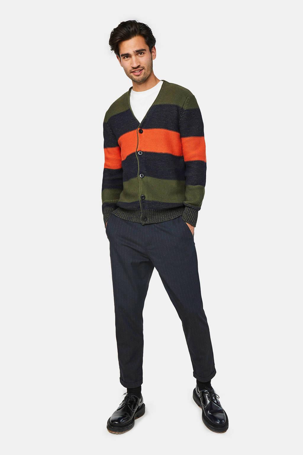 WE Fashion vest groen/marine, Groen/marine