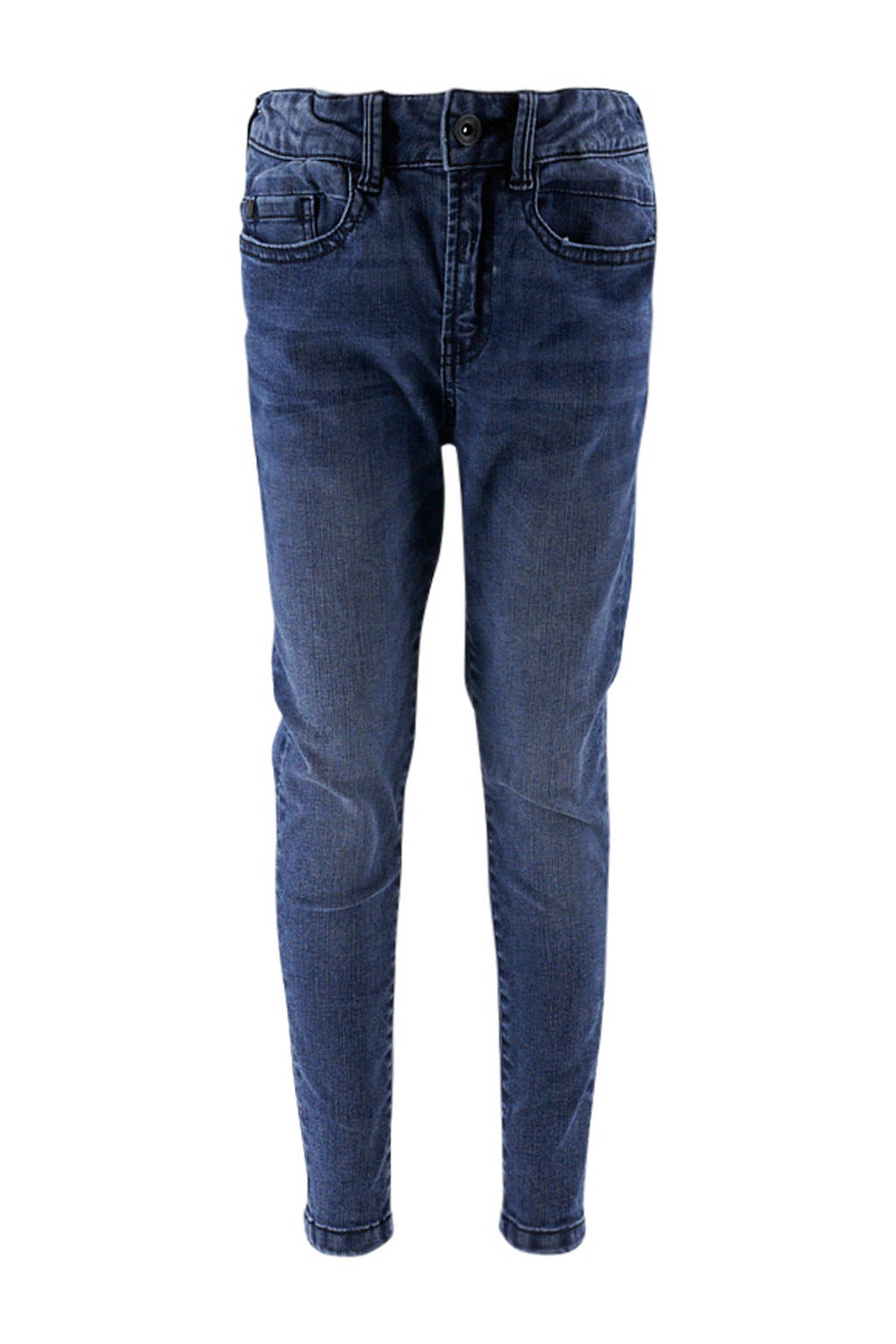 KIDDO slim fit jeans dark denim, Dark denim ligth washing