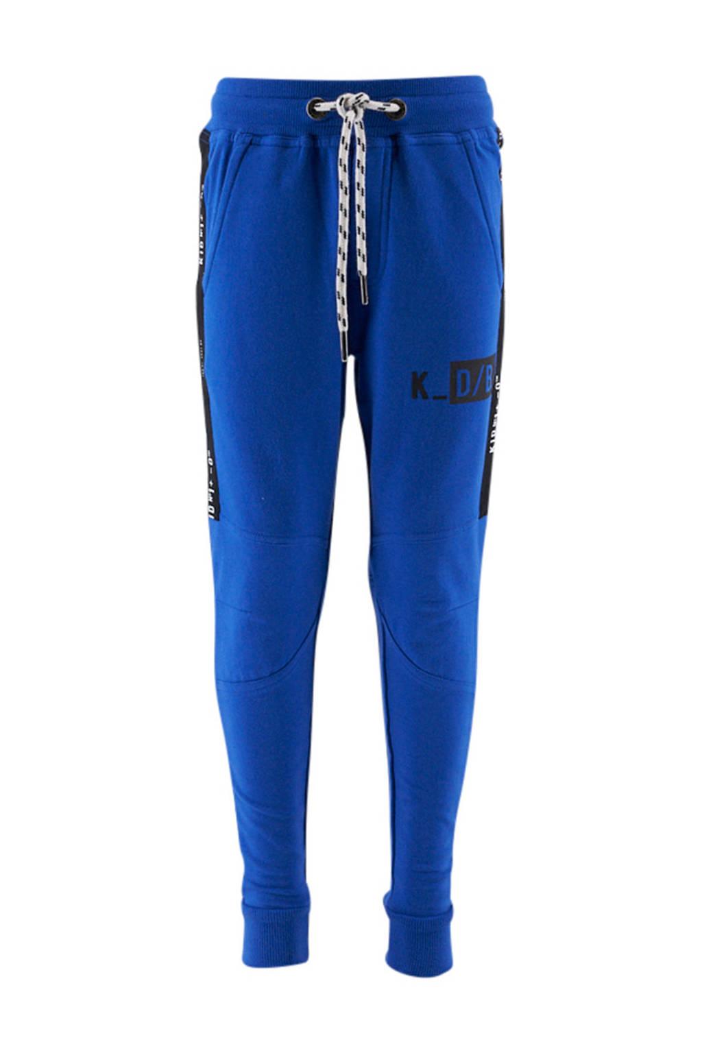 KIDDO sweatpants blauw, Blauw