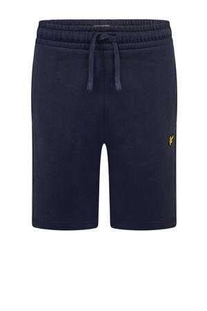 regular fit sweatshort donkerblauw