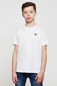 Lyle & Scott T-shirt wit, Wit