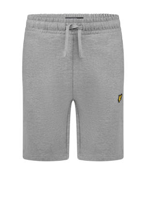regular fit sweatshort grijs