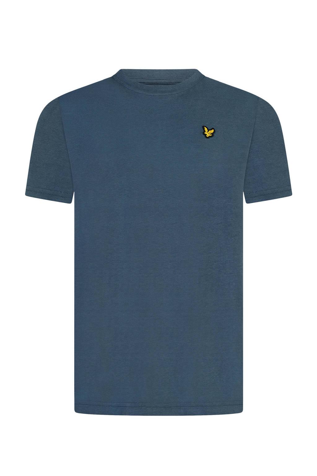 Lyle & Scott T-shirt donkerblauw, Donkerblauw