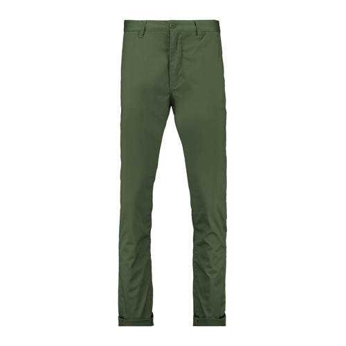 America Today slim fit chino Porter groen