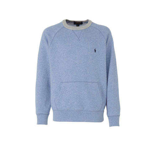 POLO Ralph Lauren gem??leerde sweater lichtblauw/g