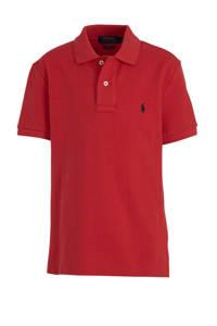 POLO Ralph Lauren polo en borduursels rood, Rood