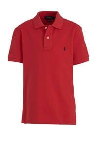 POLO Ralph Lauren polo met logoborduursel rood, Rood