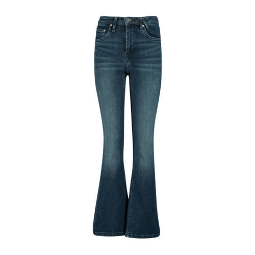 America Today Junior flared jeans Emily donkerblau