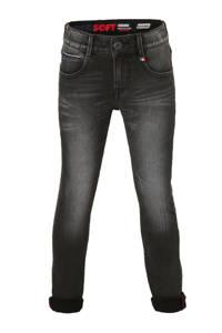 Vingino skinny jeans Alvasco donkergrijs stonewashed, Donkergrijs stonewashed
