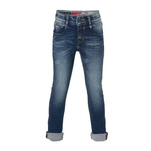 Vingino skinny jeans Alvasco dark denim stonewashe