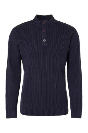 gemêleerde sweater marine